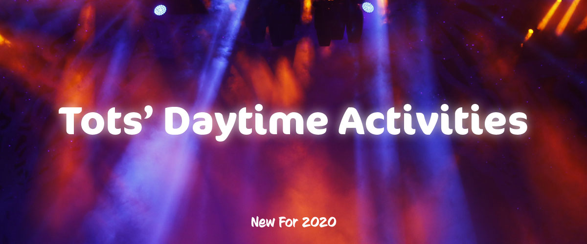 Daytime activities for tots