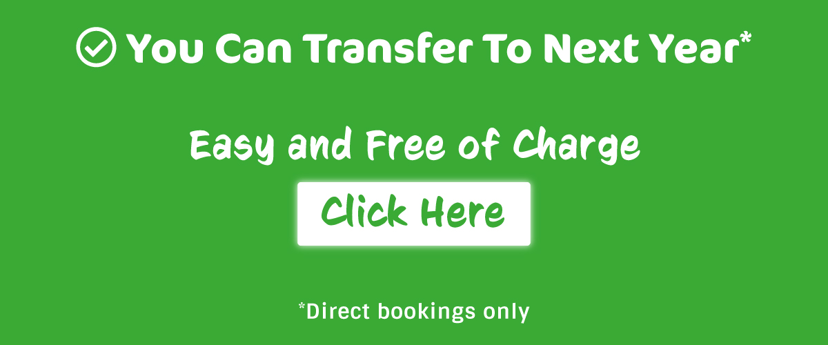 You can transfer your booking to next year