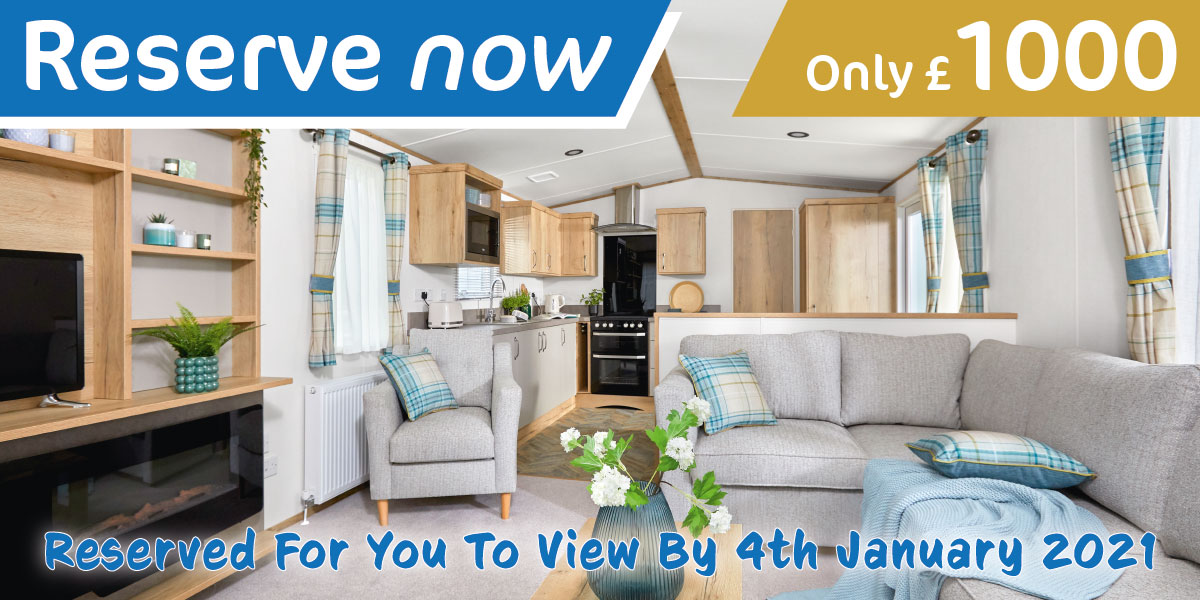 Reserve a holiday home for only £1000