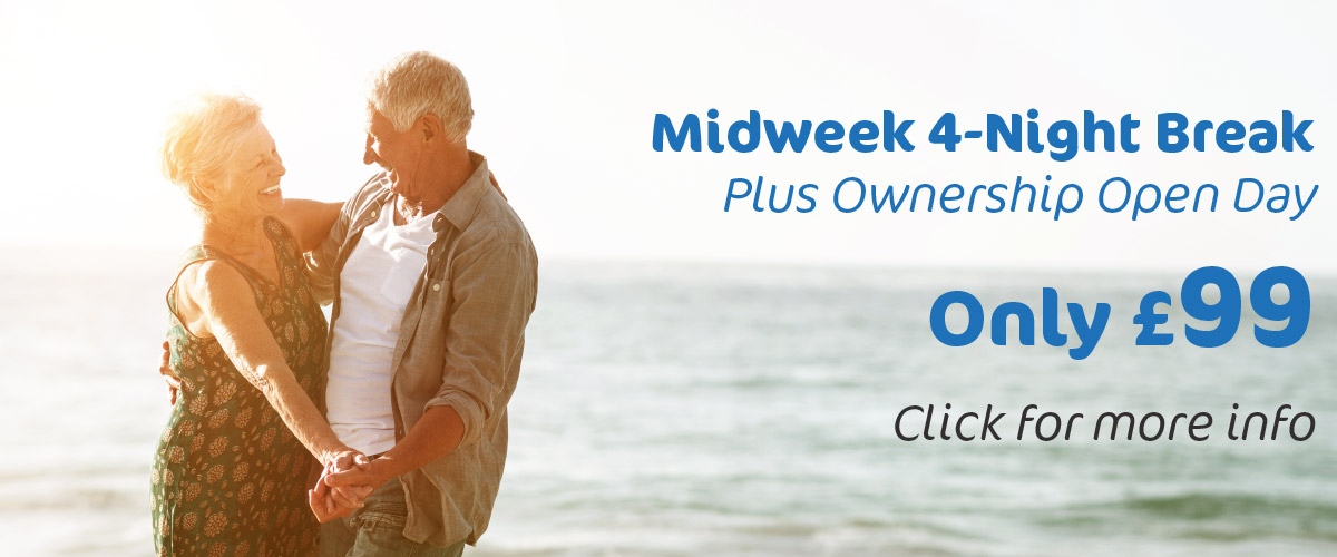 Midweek break and open day for £99