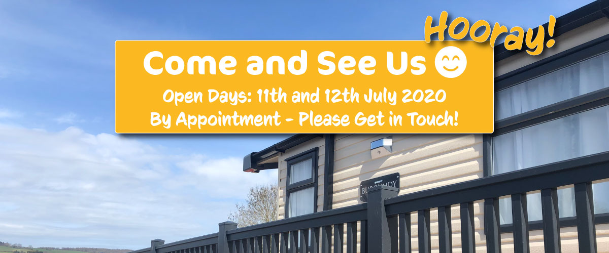 Open days 11th and 12th July