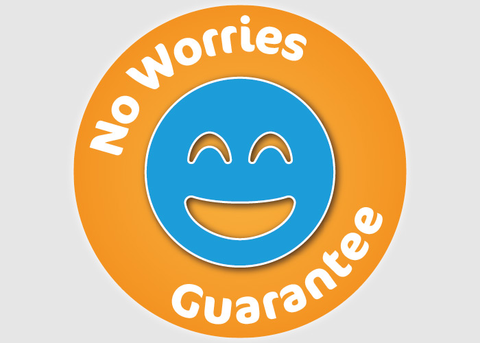 No worries guarantee
