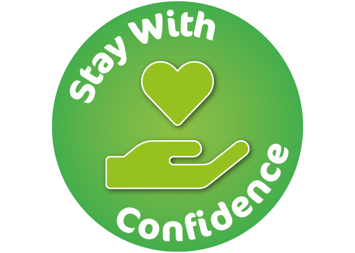 Stay with confidence