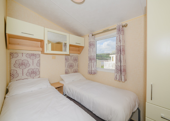 Cranmere Gold twin bedroom