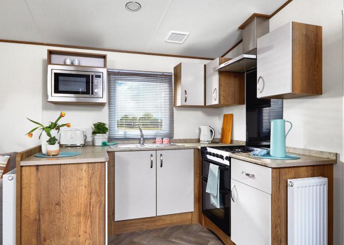 Mayflower Platinum kitchen