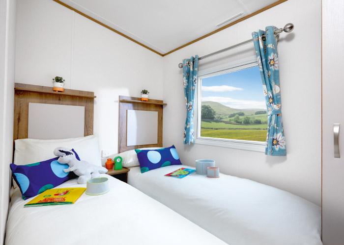 Mayflower Platinum twin bedroom