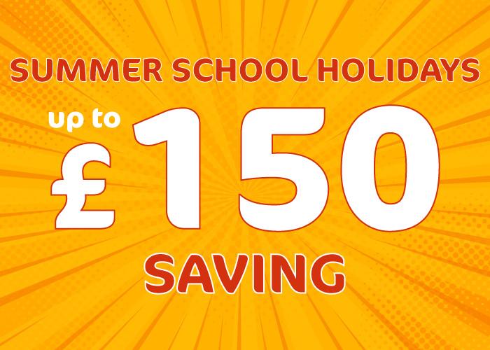 Offer image for Summer School Holidays