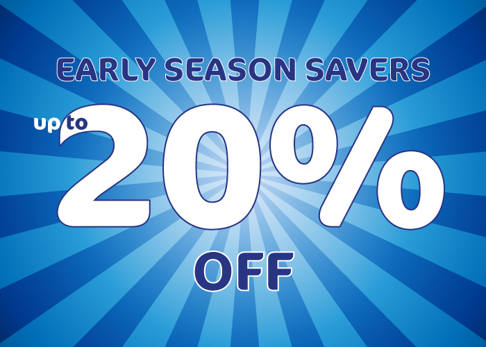 Offer image for Early Season Savers