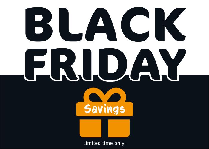 Offer image for Black Friday