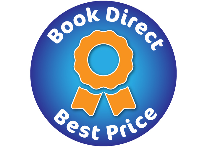 Book direct = best price