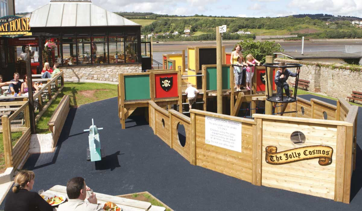 Jolly Cosmos Adventure Playground
